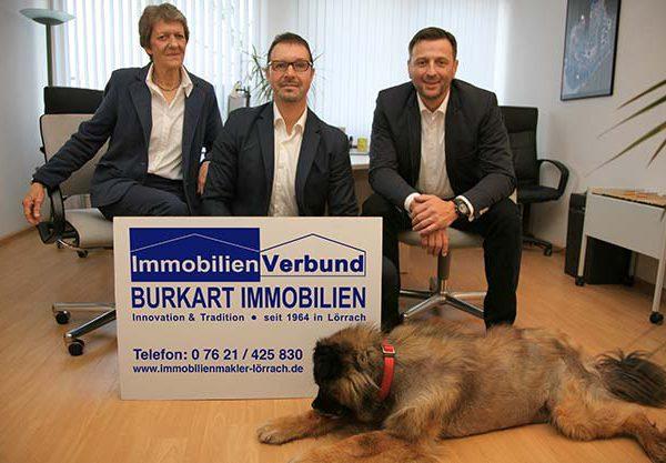 Das Team von Burkart Immobilien