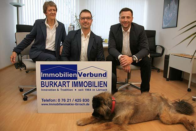 Burkart Immobilien GmbH aus Lörrach - Unser Team
