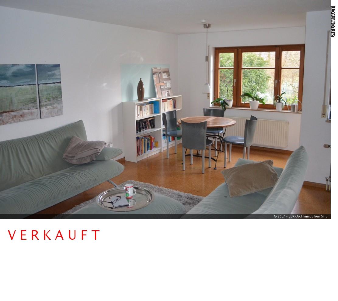 ++VERKAUFT++   Gepflegte 3,5-Zi.-Wohnung mit großem Gartenanteil  in Lörrach (Brombach), 79541 Lörrach, Erdgeschosswohnung
