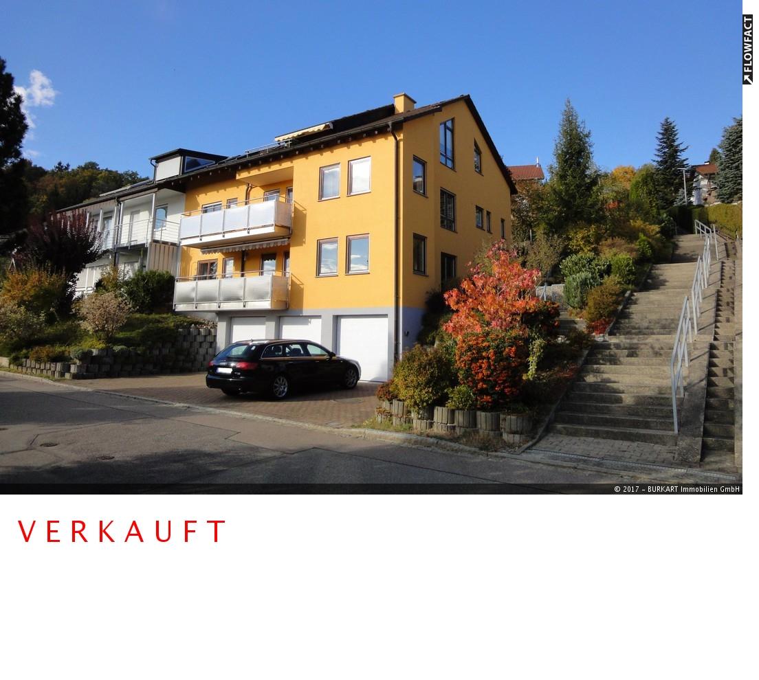++VERKAUFT++  Stadtnahe, exclusive 3-Zi.-DG-Wohnung in Aussichtslage von Lörrach, 79539 Lörrach, Dachgeschosswohnung