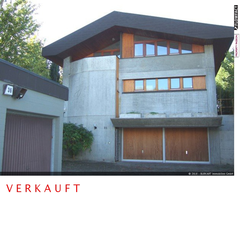 ++VERKAUFT++ Ästhetik und Design aus Beton, Glas & Holz -Villa in Bad Bellingen (Rheinweiler), 79415 Bad Bellingen, Einfamilienhaus
